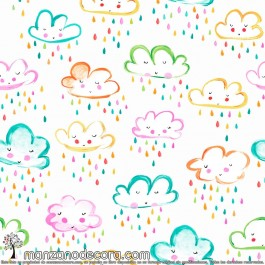 Estor Paquete Infantil Camping Nubes
