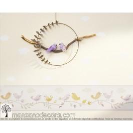 Papel Pintado Infantil Bird  89751296 + 85596299