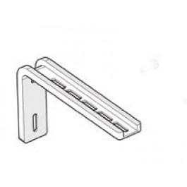 Escuadra de aluminio reforzado blanco