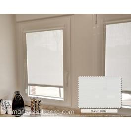 Estor Enrollable Miniroller Screen Liso Helios Transparencia Alta