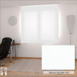 Enrollable Liso Gredos Blanco Nuclear 000