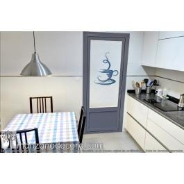 Gusanillo Fotográfico Cocina Screen Taza Azul - Apertura 5% Transparencia alta