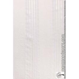 Panel Japonés Cuadros y Rayas Organza 1859 Blanco c13