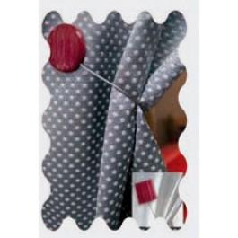 Recogedor para cortina con imán Marble