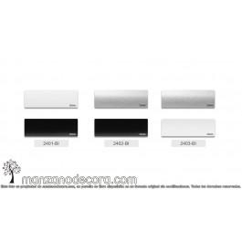 Muestra Veneciana Aluminio Bicolor Colores Lamas