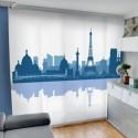 Panel Japonés Fotográfico City Silhouette