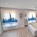 Persiana Interior Vertical Tejido Fotográfico City Silhouette