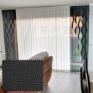 Cortina Vertical Tejido Screen Formas Ite Shaped dibujo Murano