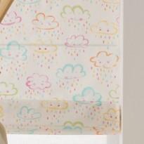 Estor Varillas Infantil Camping Nubes