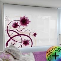 Estor Enrollable Fotográfico Dormitorio Senecio