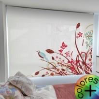 Estor Enrollable Fotográfico Dormitorio Siningia Thumbnail