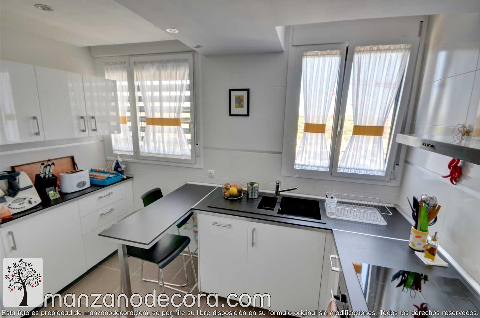Ideas para poner cortinas en la cocina
