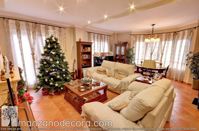Instalación de casa completa en Las Rozas: Cortinas salón, cortinas cocina, dormitorios, baños...