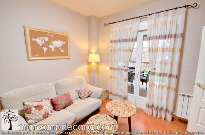 ¿Qué cortinas de salón quedan bien con mi estilo?
