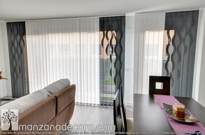 Instalación en Getafe: Cortinas, estores, paneles Japoneses y verticales