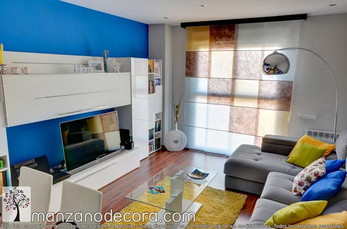 Dale color a la decoración de tu casa con cortinas a medida