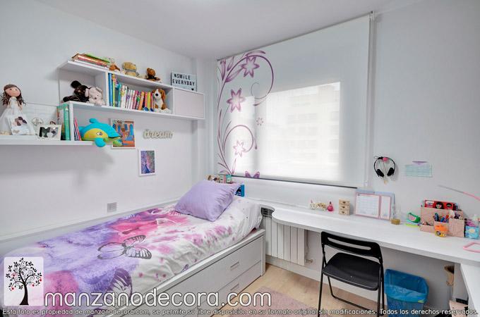 Estores para dormitorios con la confección y telas que más te van
