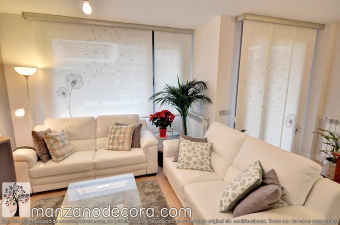 Paneles, cortinas y estores screen, un tejido que te encantará