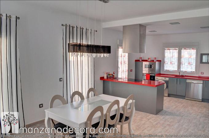 Estores y cortinas cocina para conseguir la decoración que buscas