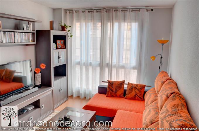 Instalaci n de cortina de ollaos con barra en getafe for Ollaos para cortinas