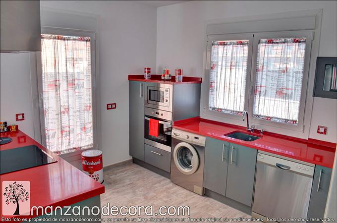 Cortinas para cocina encuentra la tela perfecta for Decoracion cortinas cocina