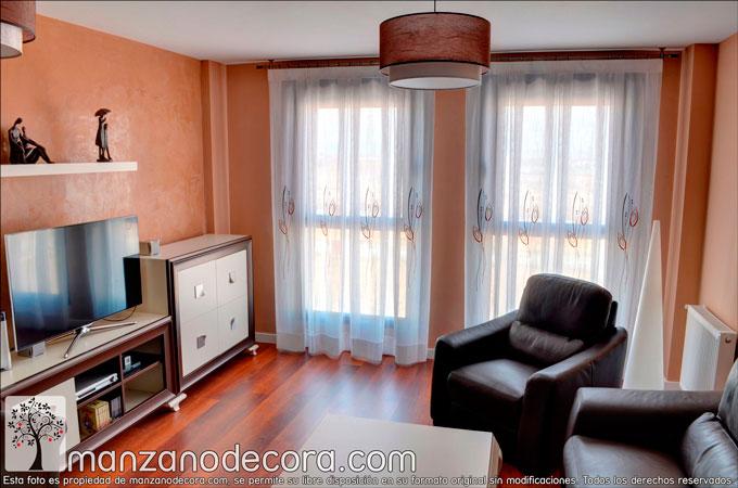 Ideas para cortinas en salones con encanto cortinas manzanodecora - Salones con encanto ...