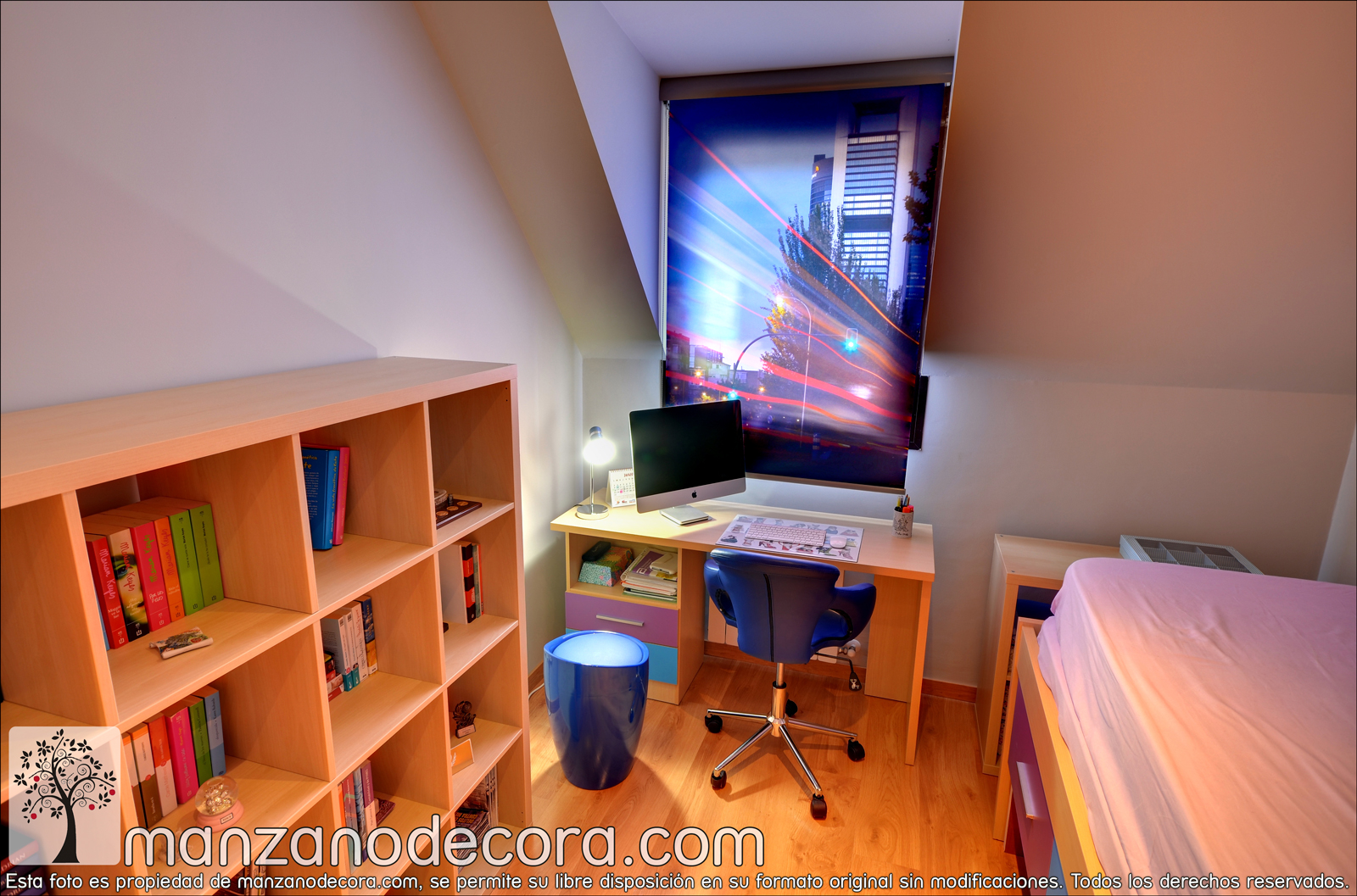 Ideas de cortinas juveniles para dormitorios