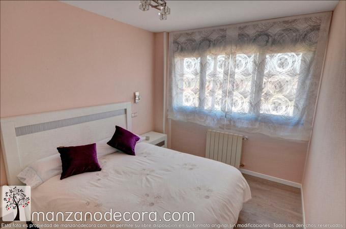 Estores Paqueto a tu medida para la decoración de tu dormitorio