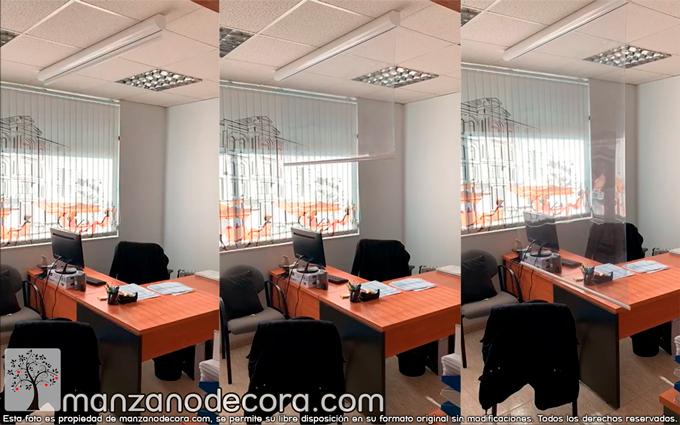 Separar espacios sin perder el contacto visual