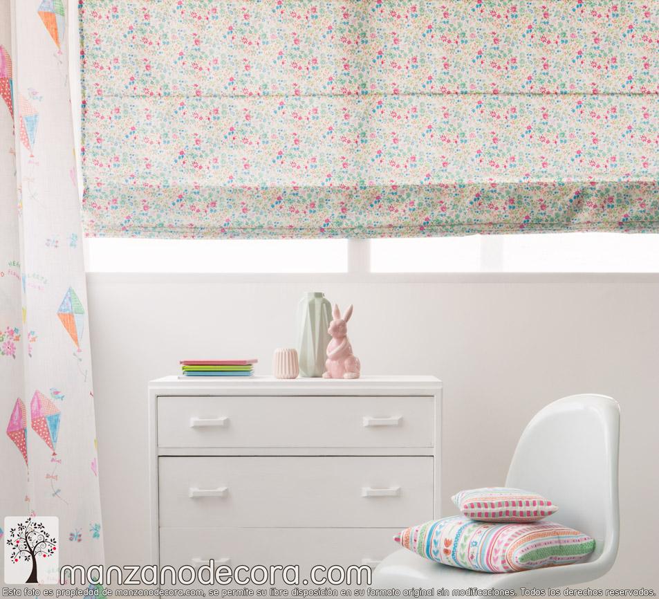 ¿Qué cortinas pongo en una habitación infantil?