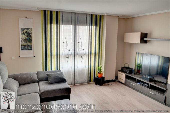 Telas para paneles japoneses cu l elijo cortinas for Telas para paneles japoneses