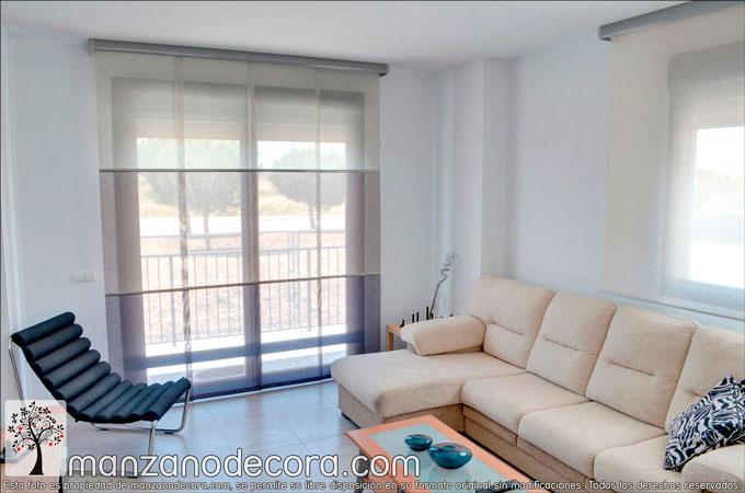 Tendencias en paneles japoneses del 2018 cortinas - Tendencias dormitorio 2018 ...