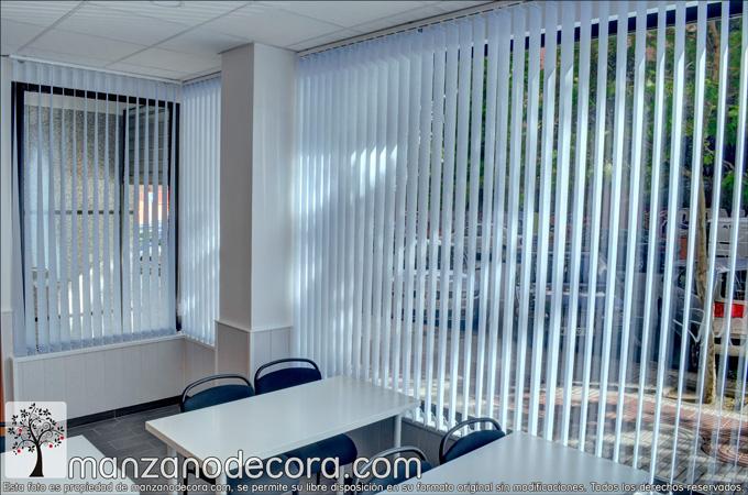 Instalación de cortinas verticales en Alcorcón