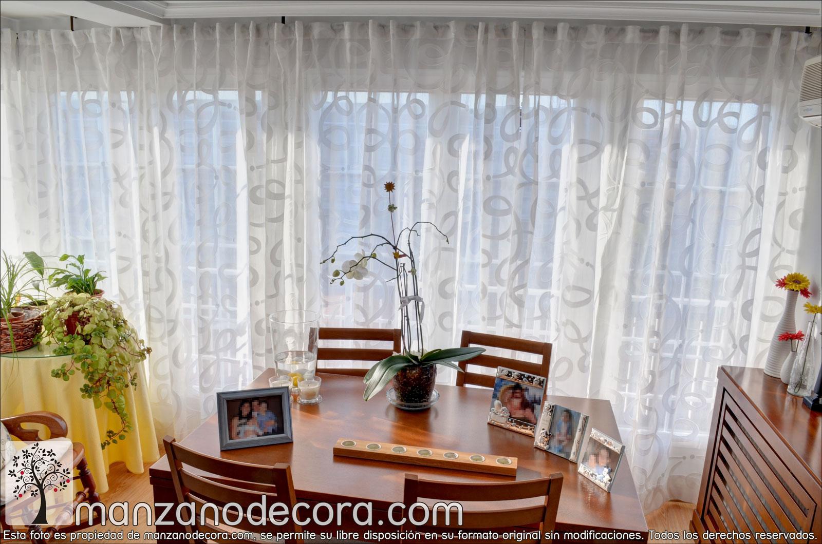 cortina fruncida