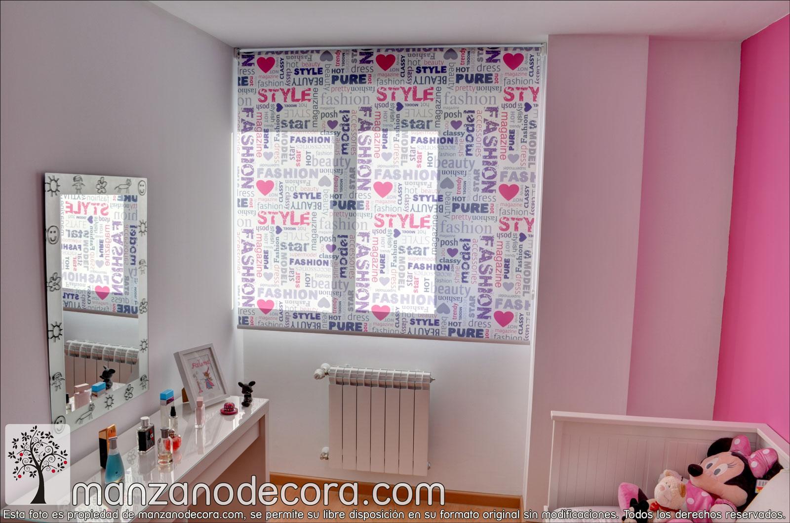 Estores cortinas manzanodecora - Estores dormitorio ...