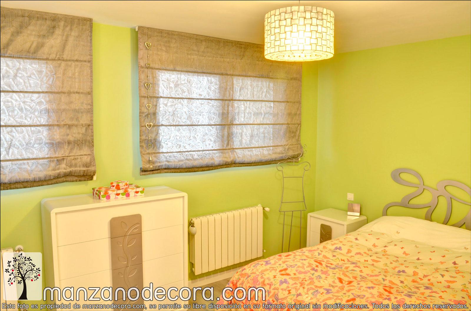 Estores de varillas cortinas manzanodecora - Rieles para estores ...