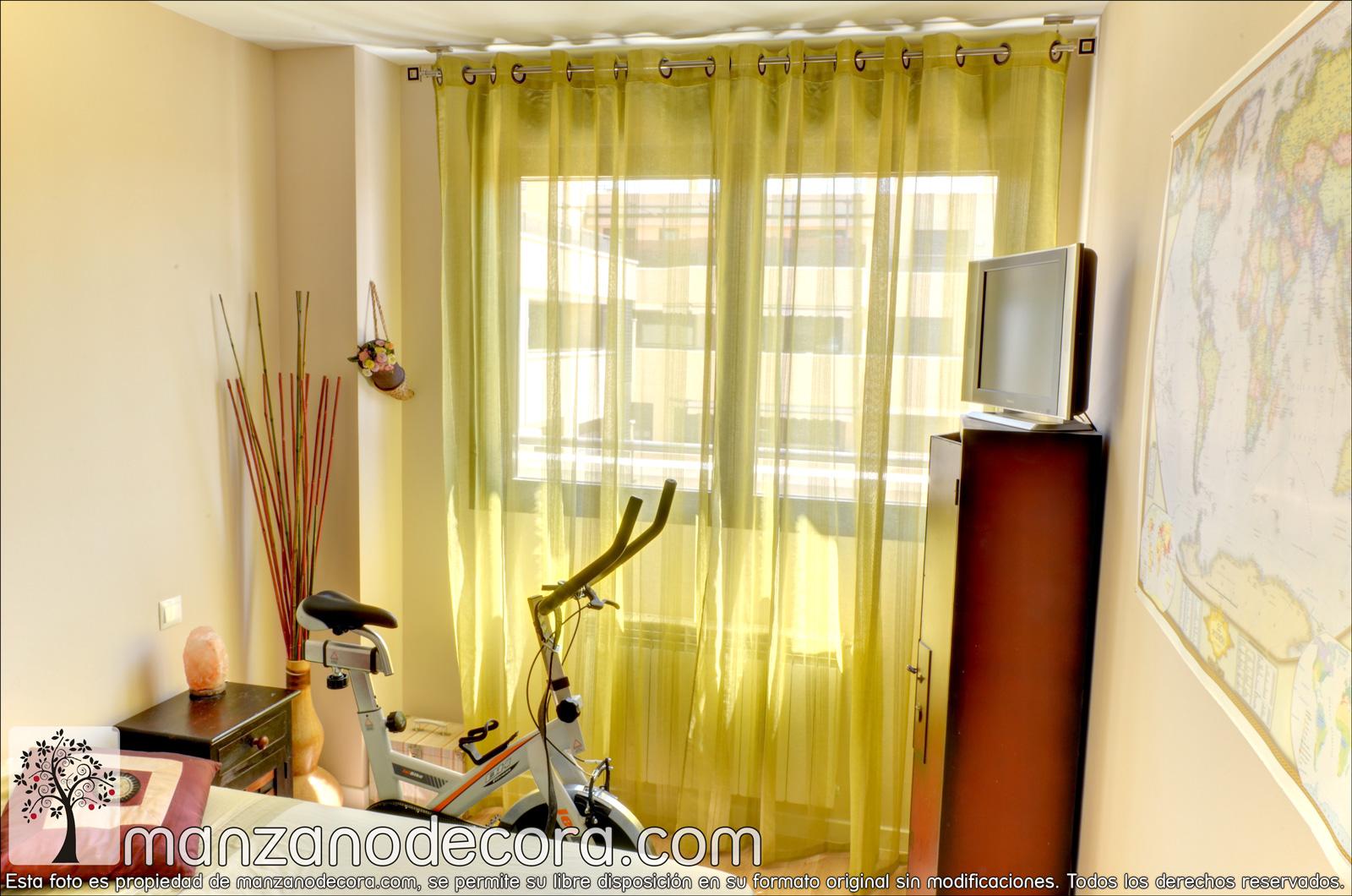 El amarillo en cortinas est de moda blog de - Moda en cortinas de salon ...
