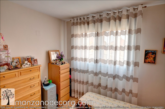 Cortinas dormitorio