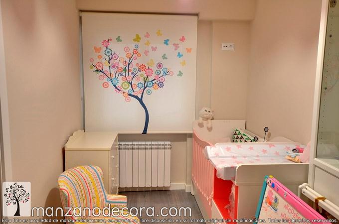 Estores-Enrollables-Decoración-Habitación-Infantil