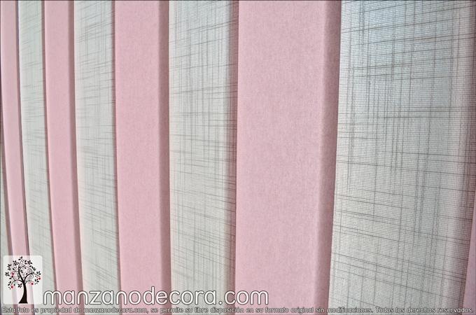 detalle vertical de tejido para puerta