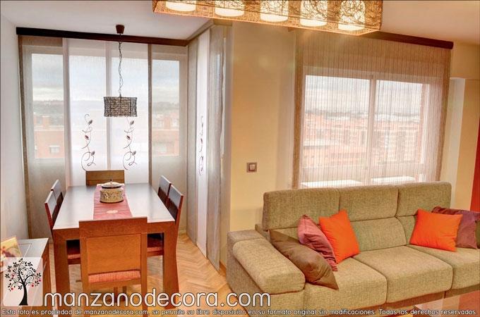 cortinas para salón bonitas