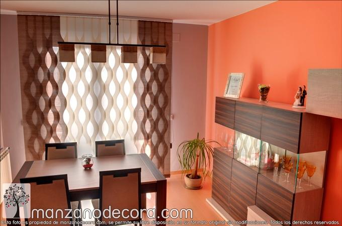 cortinas verticales para salón