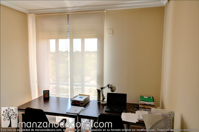 cortina roller tejido screen