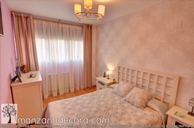 instalación cortinas en dormitorio de getafe