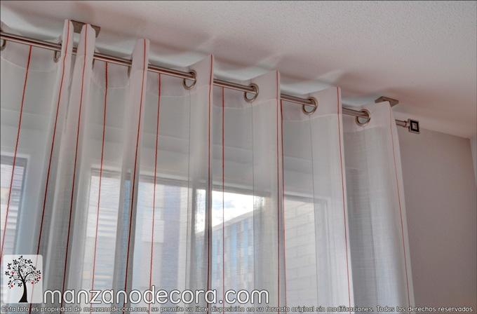 barra para cortina decorativa