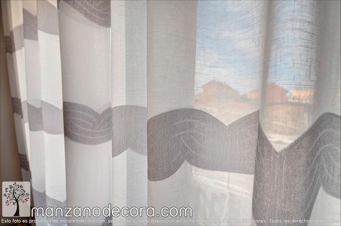 detalle cortina de ollaos estampada valeria