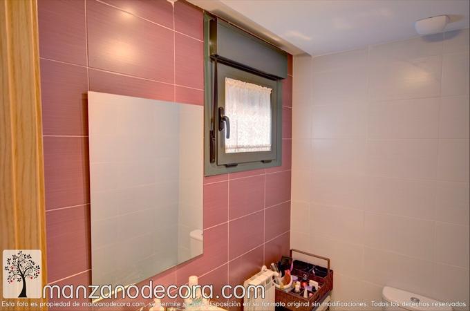 Visillo para baños de dormitorio