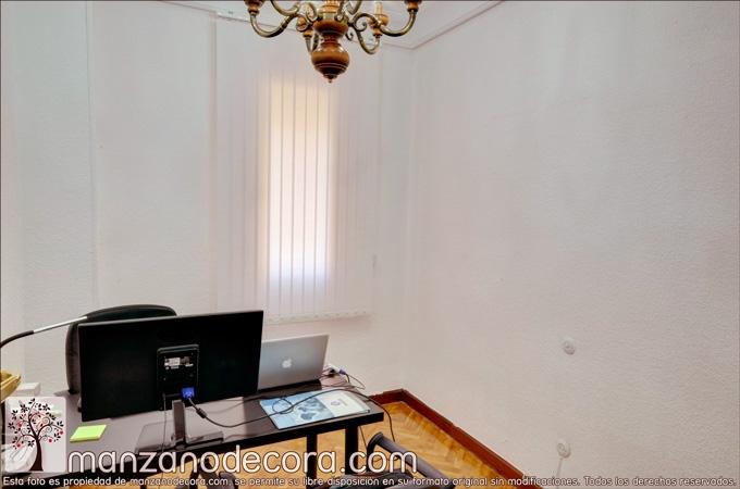 cortina vertical para despacho