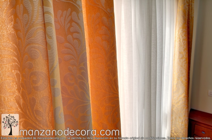 Cortinas estampadas
