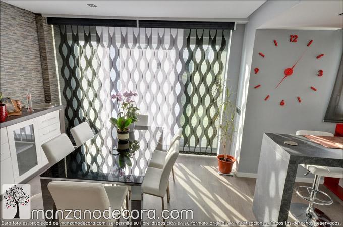cortinas de formas